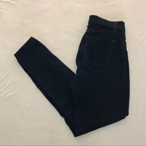 J Brand Maria High Rise Skinny Jeans in Ink